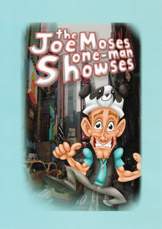 Joe Moses One Man Showses DVD Front