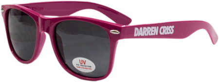 Darren Criss Pink Sunglasses