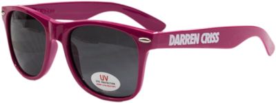 Darren Criss Pink Sunglasses