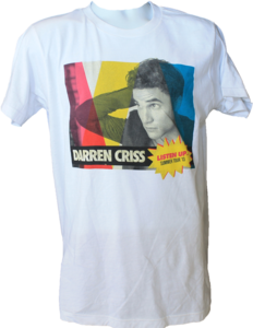 Darren Criss Listen Up Official Tour Shirt
