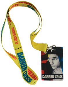 Darren Criss Listen Up Tour Lanyard