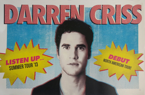 Darren Criss Listen Up VIP Poster
