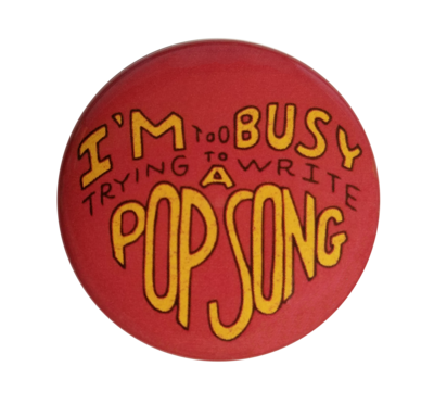 *SALE* Theo Katzman Pop Song Pin