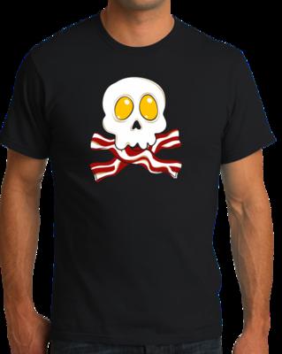 Bacon n' Eggs Skull T-shirt