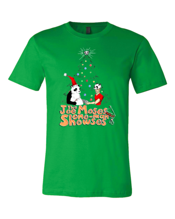 Joe Moses Holiday T-shirt 2012 Standard Green Blank with Depth Front