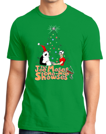 Joe Moses Holiday T-shirt 2012 Standard Green Stock Model Front 1 Thumb Front