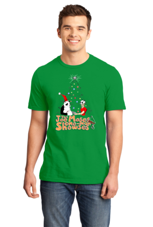 Joe Moses Holiday T-shirt 2012 Standard Green Stock Model Front 1 Front
