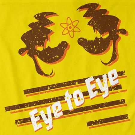 Eye to Eye Goofy Movie Inspired Tee Yellow thumbnail