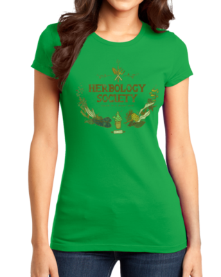 Herbology Society Harry Potter Inspired Fan T-shirt