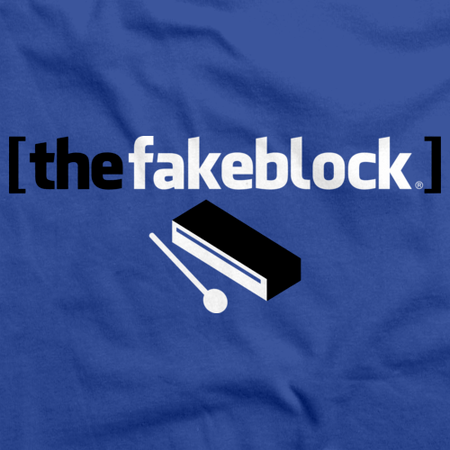 The Fakeblock Arrested Development Fan T-shirt Royal thumbnail