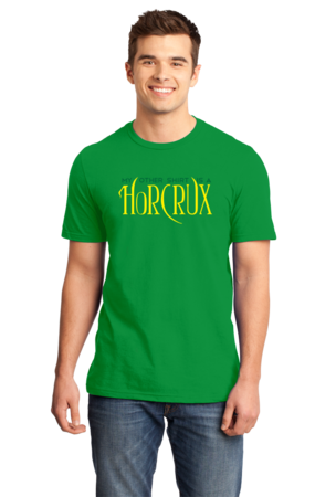 My Other Shirt is a Horcrux Standard Green Stock Model Front 1 Front