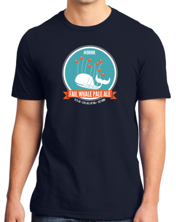 Fail Whale Pale Ale Standard Navy Stock Model Front 1 Thumb Front