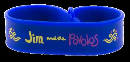 Jim and the Povolos Snap USB Bracelet