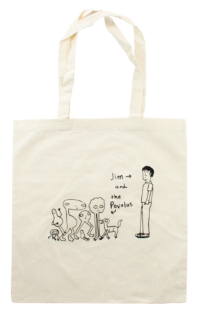 Jim and the Povolos Tote