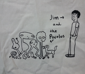 Jim and the Povolos Tote Bag
