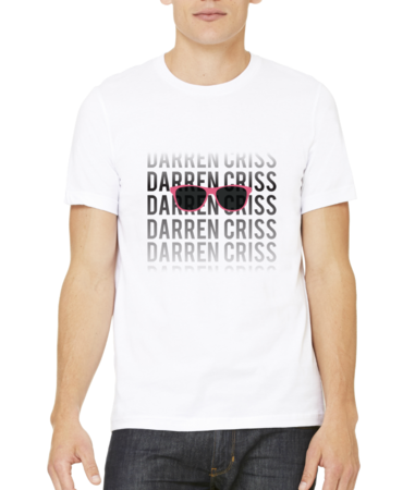 Darren Criss Fading Name Standard White Stock Model Front 1 Thumb