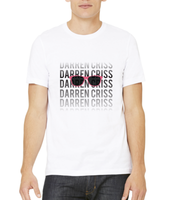 Darren Criss Name Fade T-shirt