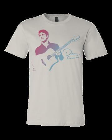 Darren Criss Guitar Standard Light Grey Blank with Depth Front