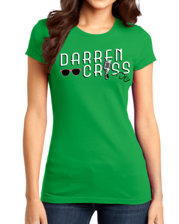 Darren Criss Microphone Girly Green Stock Model Front 1 Thumb Front
