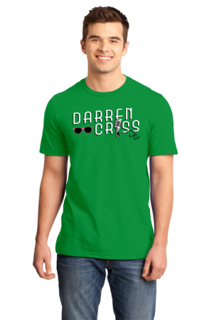 Darren Criss Microphone Standard Green Stock Model Front 1 Front