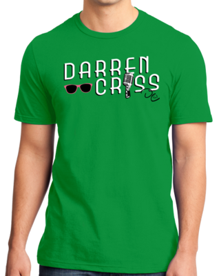 Darren Criss Microphone Standard Green Stock Model Front 1 Thumb Front