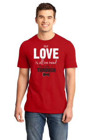 Darren Criss Our Love Is All We Need Standard Red Stock Model Front 1 Front