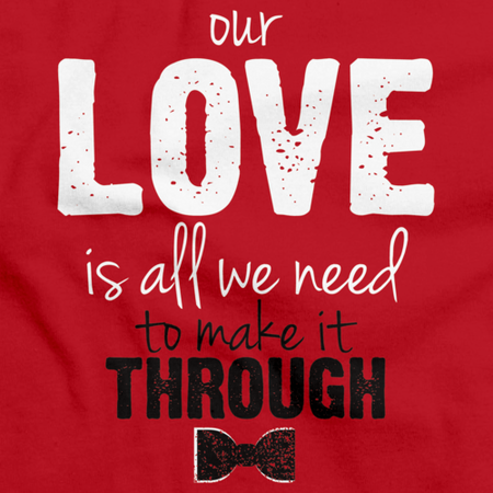 Darren Criss Our Love Is All We Need Red thumbnail