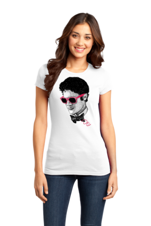 Darren Criss Sketch Girly White Stock Model Front 1 Front