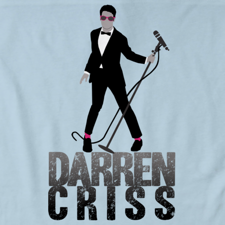Darren Criss Tuxedo Pose Light blue thumbnail