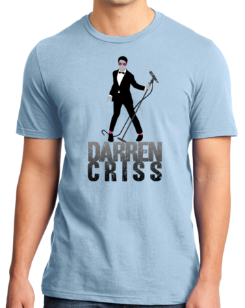 Darren Criss Tuxedo Pose Standard Light blue Stock Model Front 1 Thumb Front