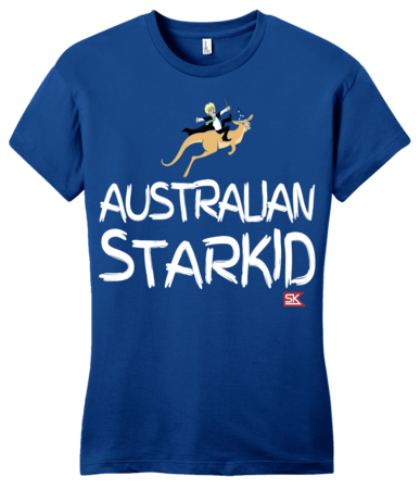StarKid AUSTRALIAN STARKID  Girly Royal Blue Blank with Depth Front