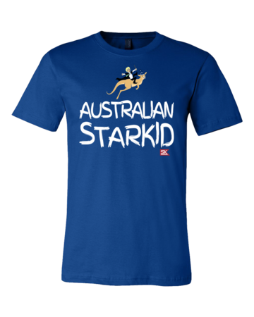 StarKid AUSTRALIAN STARKID  Standard Royal Blue Blank with Depth Front
