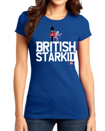 StarKid BRITISH STARKID Girly Royal Blue Stock Model Front 1 Thumb Front