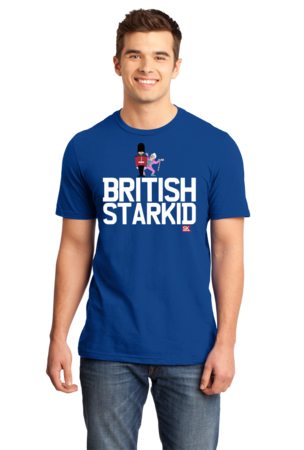 StarKid BRITISH STARKID Standard Royal Blue Stock Model Front 1 Front