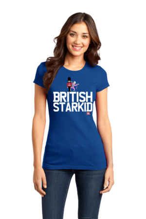 StarKid BRITISH STARKID Girly Royal Blue Stock Model Front 1 Front