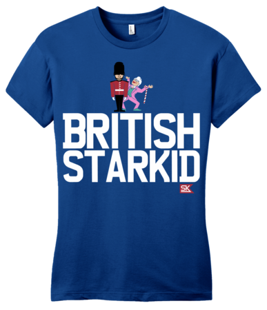 StarKid BRITISH STARKID Girly Royal Blue Blank with Depth Front