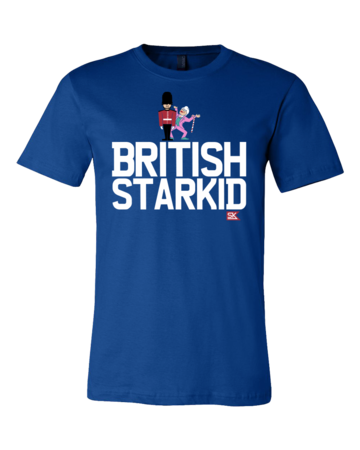 StarKid BRITISH STARKID Standard Royal Blue Blank with Depth Front