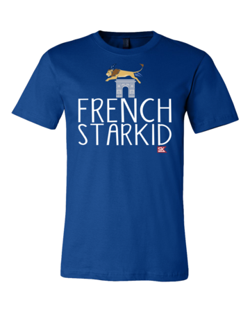 StarKid FRENCH STARKID Standard Royal Blue Blank with Depth Front