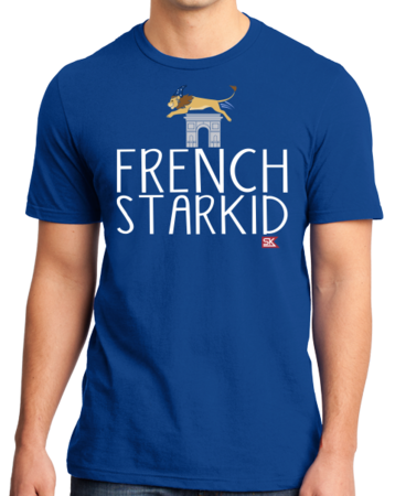 StarKid FRENCH STARKID Standard Royal Blue Stock Model Front 1 Thumb Front