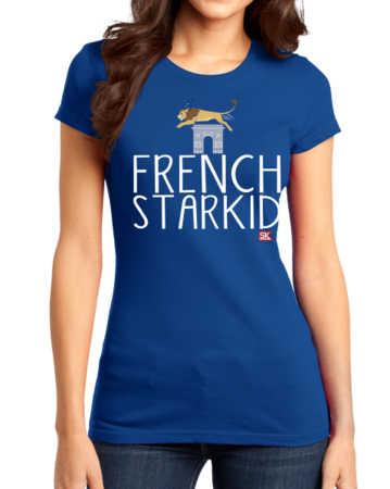 StarKid FRENCH STARKID Girly Royal Blue Stock Model Front 1 Thumb Front