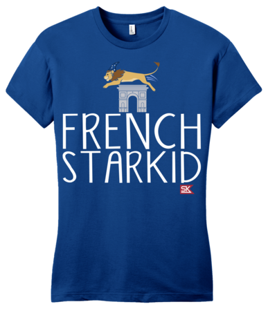 StarKid FRENCH STARKID Girly Royal Blue Blank with Depth Front