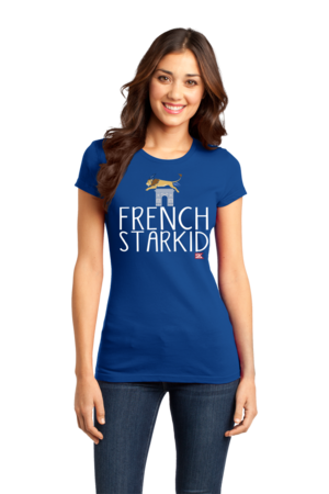 StarKid FRENCH STARKID Girly Royal Blue Stock Model Front 1 Front