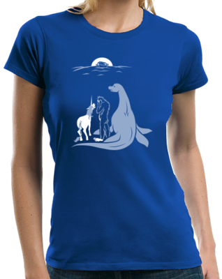 Noah Forgot Bigfoot, Unicorn, And Loch Ness Monster :( T-shirt