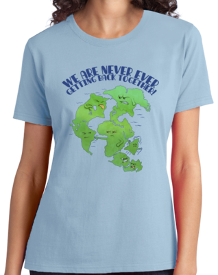 Pangaea Never Getting Back Together T-shirt