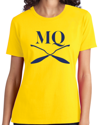Michigan Quidditch Brooms Logo T-shirt