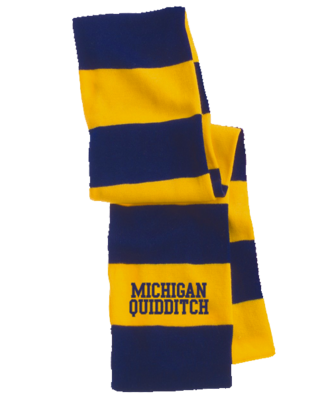 Michigan Quidditch Scarf