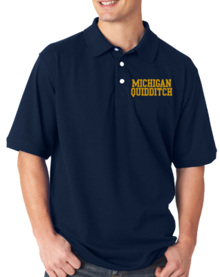 Michigan Quidditch Polo