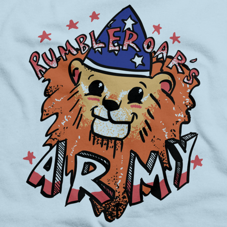 StarKid Rumbleroar's Army Light blue Art Preview