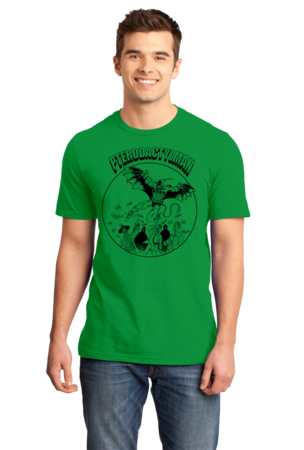 StarKid Holy Musical, B@man! Pterodactyl Man Standard Green Stock Model Front 1