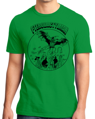 StarKid Holy Musical, B@man! Pterodactyl Man T-shirt